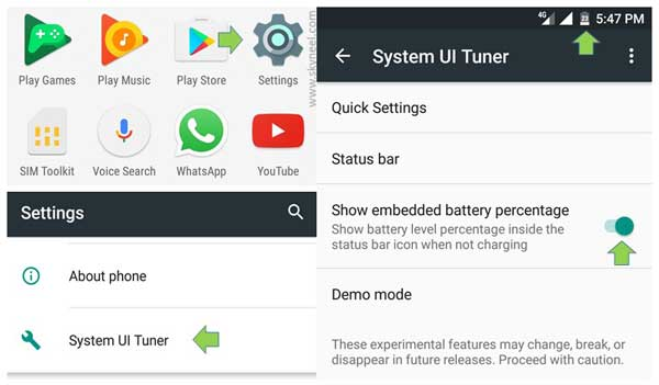 how-to-show-battery-percentage-on-status-bar-in-android-6-marshmallow