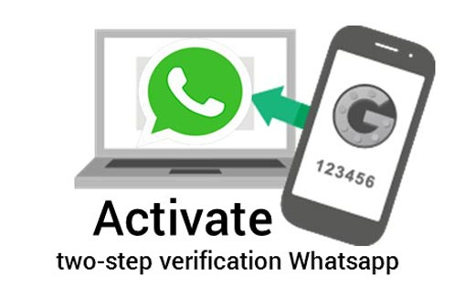 How to activate two-step verification feature on whatsapp