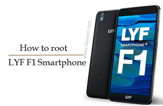 How to root LYF F1 Reliance Digital