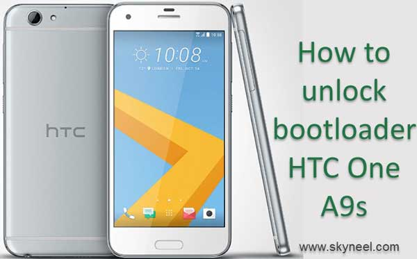 How to unlock bootloader HTC One A9s Smartphone