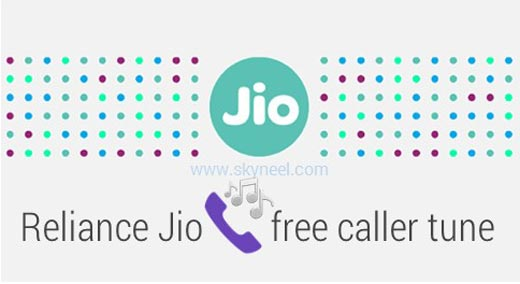 Reliance Jio is giving free caller tune service for all Jio users