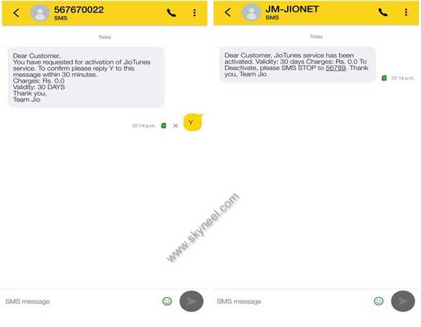 Reliance jio is giving free caller tune service 2
