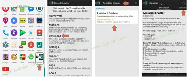 enable Google Assistant on Android Marshmallow 1
