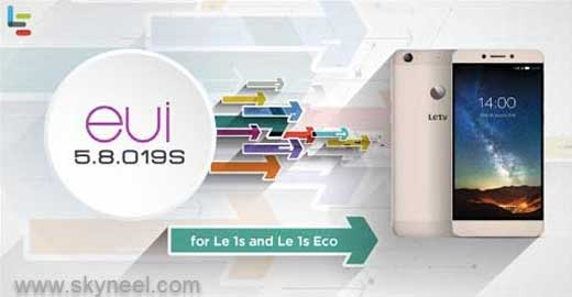 New update Marshmallow LeEco Le 1s EUI 5.8.019S Stable Stock Rom