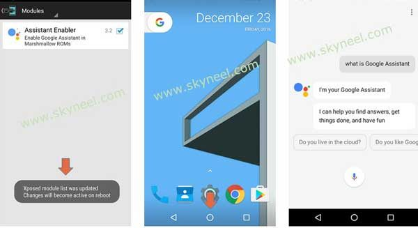enable Google Assistant on Android Marshmallow 3