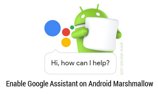 How to enable Google Assistant on Android Marshmallow