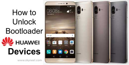 unlock bootloader Huawei Devices