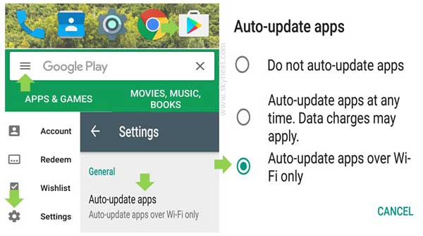 How to Turn On or Turn Off Automatic App Updates on Smartphone