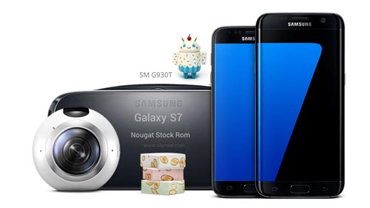How to update Nougat Galaxy S7 SM G930T Stock Rom