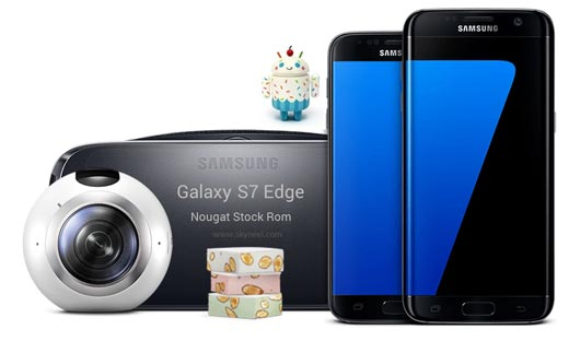 How to install Nougat Galaxy S7 Edge SM G935F Stock Rom