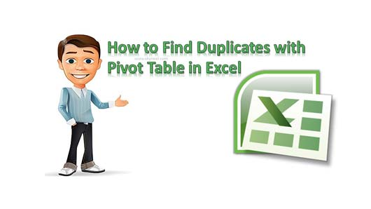 how to detect duplicates in excel