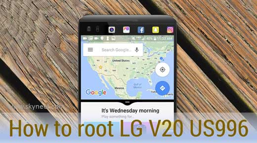 How to root LG V20 US996 TWRP recovery