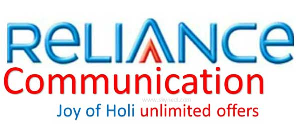 RCOM launches Joy of Holi unlimited offers with 1GB 4G data for Rs 49 and 3GB for Rs 149