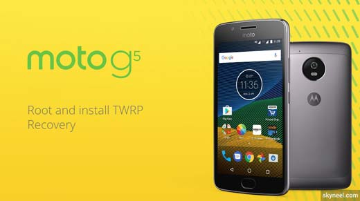How to root Moto G5 and install TWRP recovery