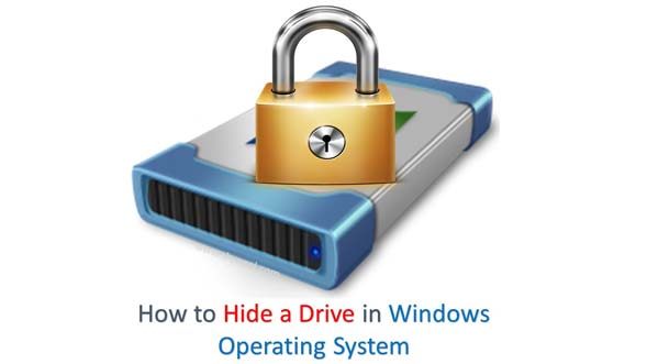 How to Hide a Drive in Windows Operating System