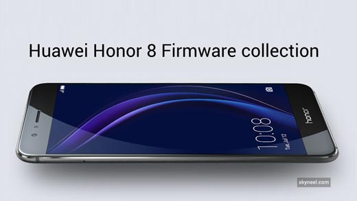 Download and install Huawei Honor 8 Firmware collection