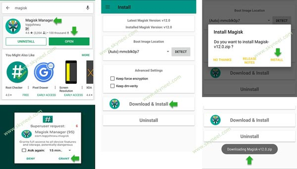 Install Magisk on Android Smartphone (Magisk Manager)