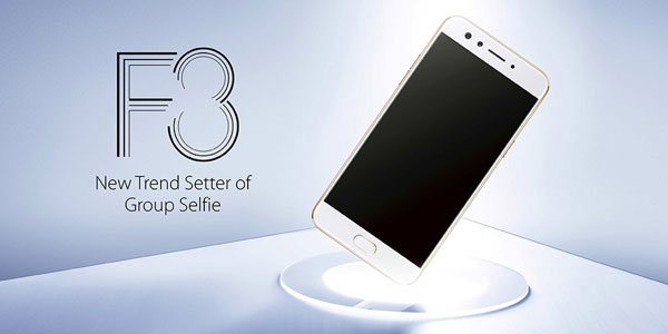 Oppo F3 Launched in Indian Market at Rs. 19,999