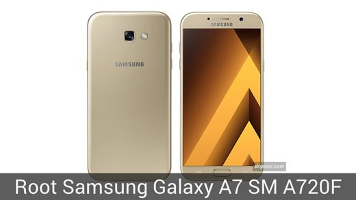 How to root Samsung Galaxy A7 SM A720F