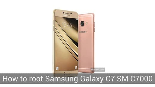 How to root Samsung Galaxy C7 SM C7000