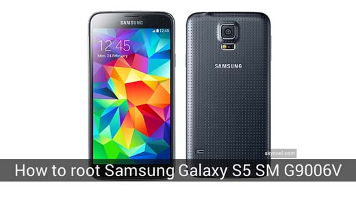 How to root Samsung Galaxy S5 SM G9006V