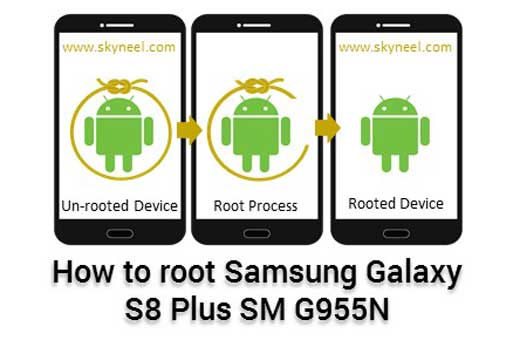 How to root Samsung Galaxy S8 Plus SM G955N