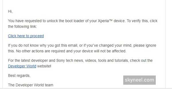 unlock bootloader Sony Xperia Devices 3