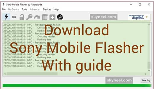 Download Sony Mobile Flasher (Sony Flash Tool All Version)