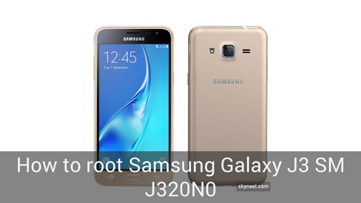 How to root Samsung Galaxy J3 SM J320N0 2016