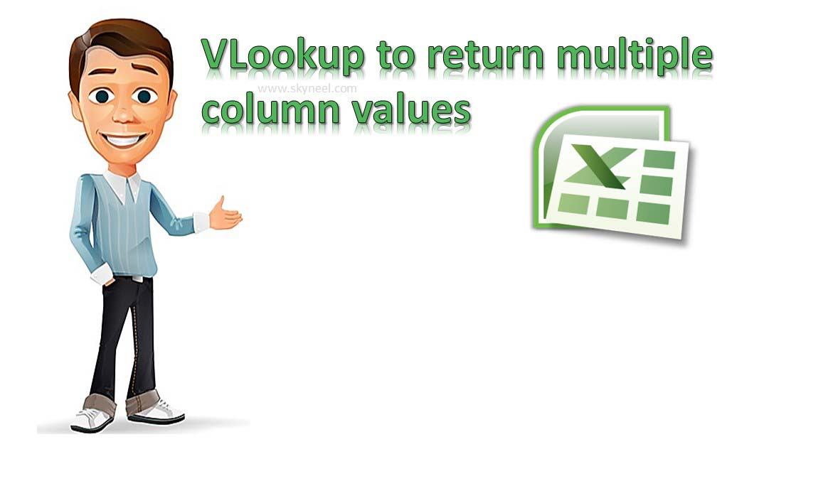 VLookup to return multiple column values