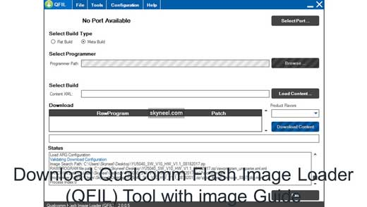 Download Qualcomm Flash Image Loader QFIL Tool with image Guide