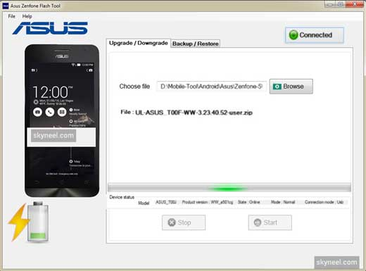 Asus Zenfone Flash Tool 3