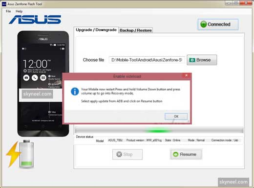 Asus Zenfone Flash Tool 4