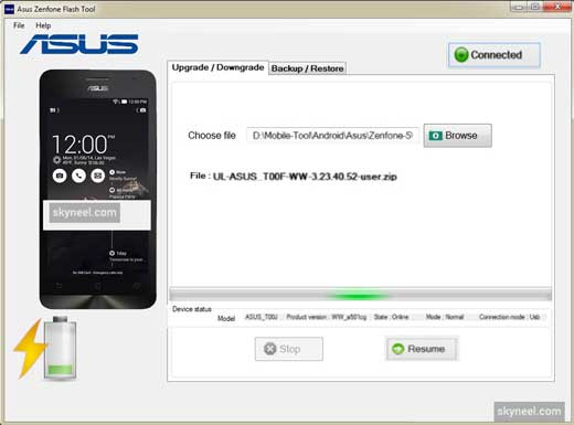 Asus Zenfone Flash Tool 5