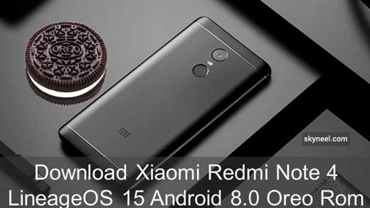 Download Xiaomi Redmi Note 4 LineageOS 15 Android 8 0 Oreo Rom