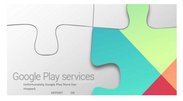 Solution of Google Play Services Has stopped message