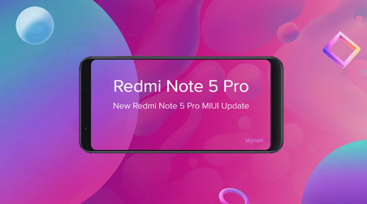 Redmi Note 5 Pro MIUI 10 0 1 0 Global stable Rom [Android