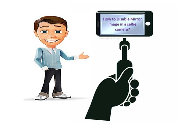 How to disable Mirror image in a selfie camera