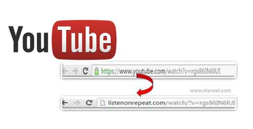How to auto repeat YouTube video
