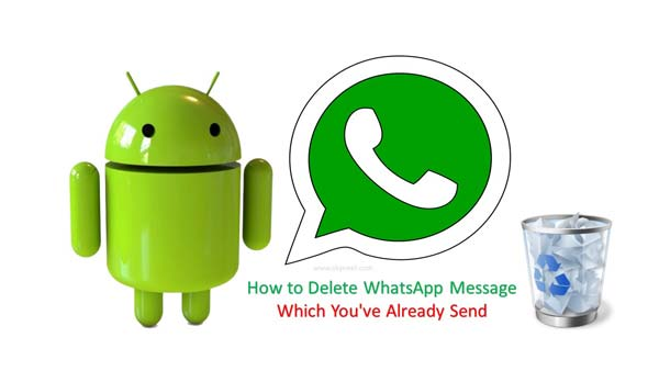 How to delete WhatsApp messages which you have already send