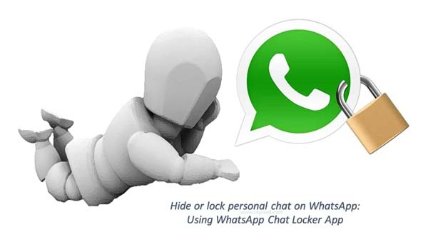 How to hide or lock personal chat on WhatsApp