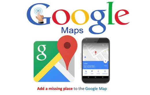 add a missing place to the Google Map