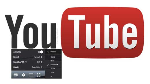 Watch YouTube Videos in Fast or Slow Motion