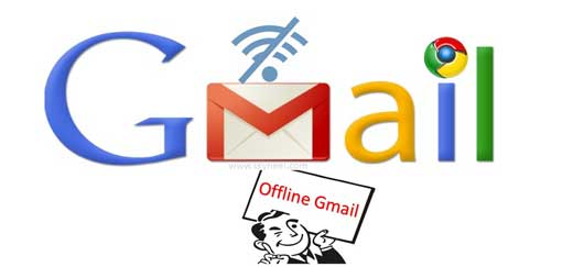 Enable Offline Gmail and use without Internet Connectivity