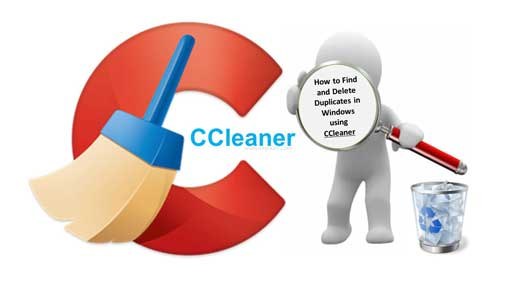 How to Find and Delete Duplicates in Windows using CCleaner