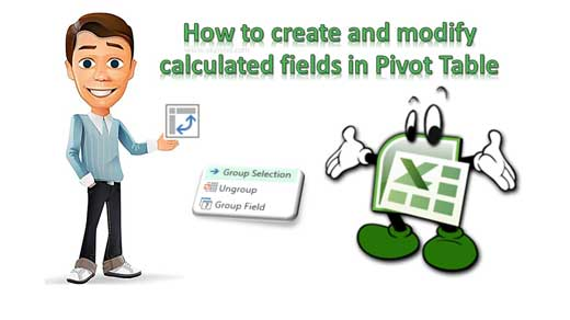 How to Group and Ungroup of Excel Pivot Table Data