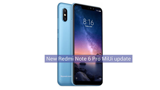 Redmi Note 6 Pro MIUI 10 0 5 0 - Android Oreo 8 1 Global