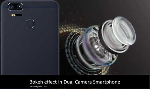 How to use Bokeh effect in Dual Camera Smartphone
