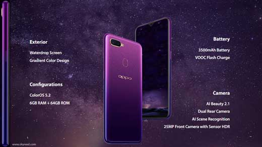 Main reason Why should buy Oppo F9 Pro Smartphone?
