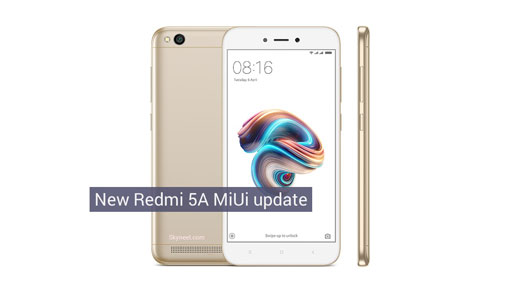 Redmi 5A MIUI 10 1 2 0 Global Stable Rom [Android Oreo 8 1]